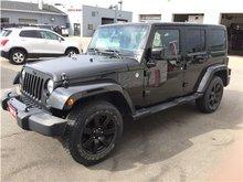 2014 Jeep Wrangler Unlimited Sahara JUST TRADED