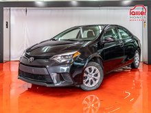 Toyota Corolla L**HICTH A VELO**BLUETOOTH**GR ÉLECTRIQUE 2015