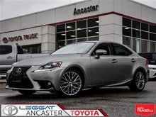 2015 Lexus IS 250 AWD WITH NAVIGATION AND ONLY