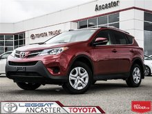 2015 Toyota RAV4 LE UPGRADE PACKAGE WITH ONLY 42548 KMS!!