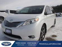 2011 Toyota Sienna XLE  RARE LIMITED, LEATHER, SUNROOF!!!