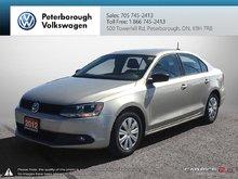 2012 Volkswagen Jetta Trendline 2.0 6sp w/Tip