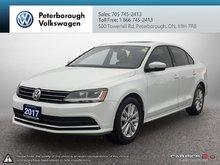 2017 Volkswagen Jetta Wolfsburg Edition 1.4T 5sp