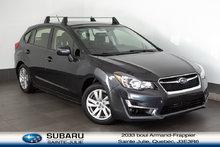 2016 Subaru Impreza 2.0i Touring Pkg avec balance de garantie