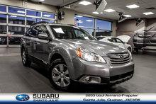 Subaru Outback LE MOINS CHER AU QUEBEC, CUIR, TOIT, TRÈS PROPRE!! 2011