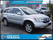 2011 Honda CR-V EX-L AWD, Nav, Leather, Sunroof, Clean, Low KM