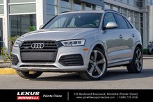 2016 Audi Q3 AWD, TECHNIK SLINE, GPS, PANORAMIC ROOF