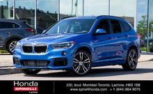 2018 BMW X1 XDrive28i M SPORT PACk  COMME NEUF