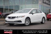 2013 Honda Civic LX AUTO  MAGS