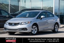 2013 Honda Civic LX AUTO TRES BAS KM