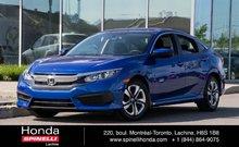 2016 Honda Civic LX BAS KM 6 SPEED
