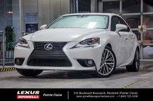 2014 Lexus IS 250 MODELE PREMIUM! PNEUS D'HIVER! BAS MILEAGE!!