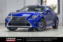2016 Lexus RC 350 F SPORT II AWD; CUIR TOIT GPS AUDIO