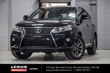 2013 Lexus RX 350 F SPORT AWD; CUIR TOIT GPS