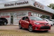 2015 Toyota Corolla LE MAGS TOIT BAS KM!!!!