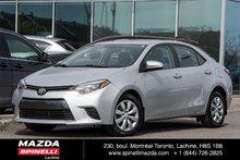2015 Toyota Corolla LE BAS KM