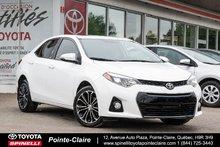2016 Toyota Corolla SPORT TECH