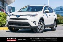 Toyota RAV4 Hybrid **LIMITED AWD** 2016