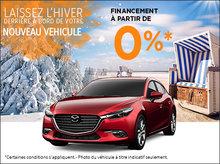 Laisser l'hiver derrière chez Atlantic Mazda