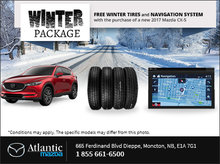 Get Your Winter Package at Atlantic Mazda!