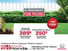 L'événement pleine puissance chez Bathurst Honda
