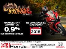 L'événement Excursions d'automne chez Bathurst Honda!