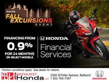 Bathurst Honda's Fall Excursions Event!