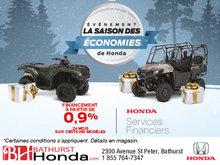 L'événement saison des économies chez Bathurst Honda!