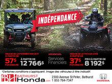 L'événement Retrouvez votre indépendance de Honda!