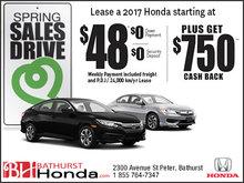 Spring Sales Drive