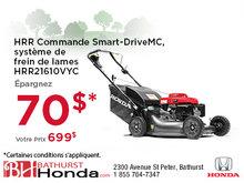 HRR Commande Smart-Drive de Honda