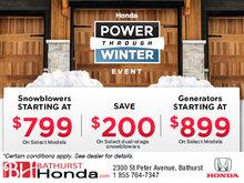 Honda's Power Through Winter Event