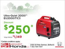 Honda's Ultra-Quiet 2000i