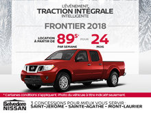 Obtenez le Nissan Frontier 2018 dès aujourd'hui!