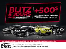Blitz 6 jours de Nissan