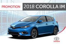 2018 Corolla iM