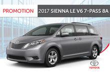 2017 Sienna LE V6 7-Pass 8A