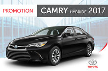 Camry hybride LE 2017