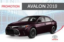 Toyota Avalon Touring 6A 2018