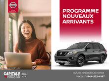 Programme nouvel arrivant chez Capitale Nissan