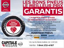 L'avantage pneus d'hiver chez Capitale Nissan
