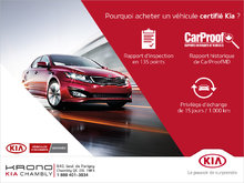 Pourquoi acheter un véhicule certifié Kia?