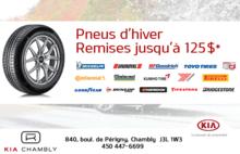 Promotion de pneus