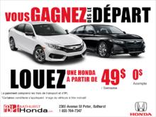 Événement formule gagnante de Honda