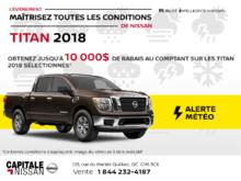 Nissan Titan 2018 chez Capitale Nissan