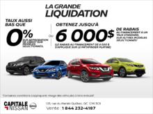 La grande liquidation Nissan chez Capitale Nissan
