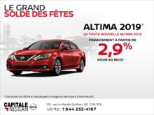 La Nissan Altima 2019 chez Capitale Nissan