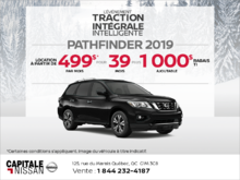 Obtenez le Nissan Pathfinder 2019 dès aujourd'hui! chez Capitale Nissan