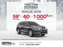 Obtenez le Nissan Rogue 2019 dès aujourd'hui! chez Capitale Nissan