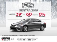 Obtenez le Nissan Sentra 2019 dès aujourd'hui! chez Capitale Nissan